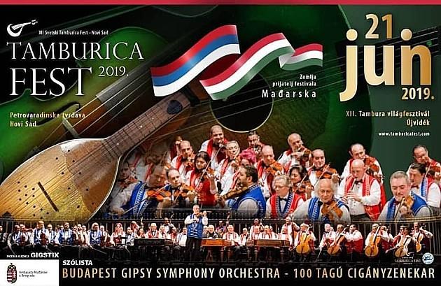 Tamburica fest od 20. do 22. juna na Petrovaradinskoj tvrđavi