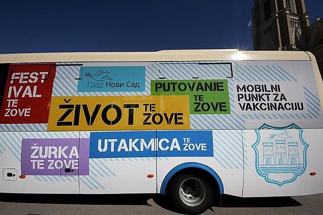 Autobus GSP – mobilni punkt za vakcinaciju od sutra u Kampusu