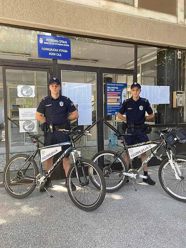 Biciklističke policijske patrole ponovo na novosadskim ulicama
