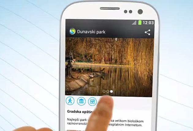 Android aplikacija za zaljubljenike u prirodu