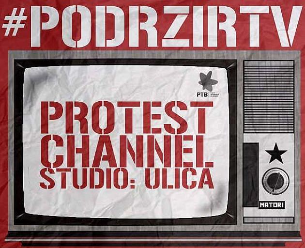 """U ponedeljak treći protest """"Podrži RTV"""""""
