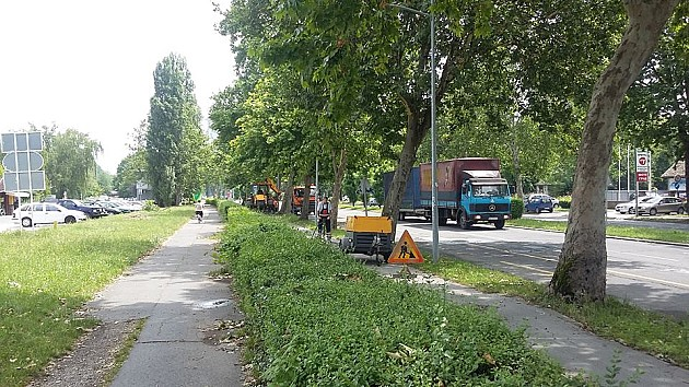 Nakon protesta biciklista počela sanacija biciklističkih staza