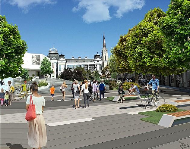 Kako će izgledati centar Novog Sada