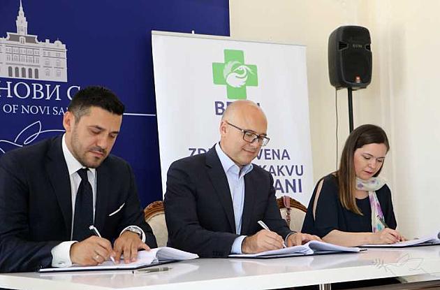 Potpisan ugovor o koncesiji između Grada Novog Sada i Apoteke BENU