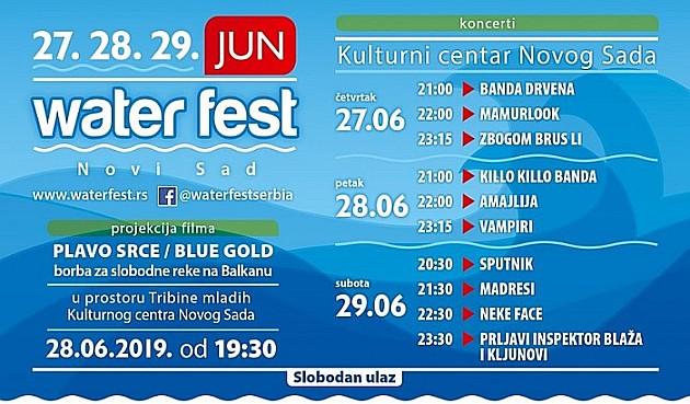 Water fest krajem juna u Novom Sadu