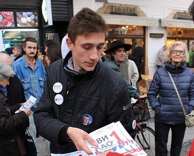 """Pretučen jedan od organizatora protesta """"Jedan od pet miliona"""""""