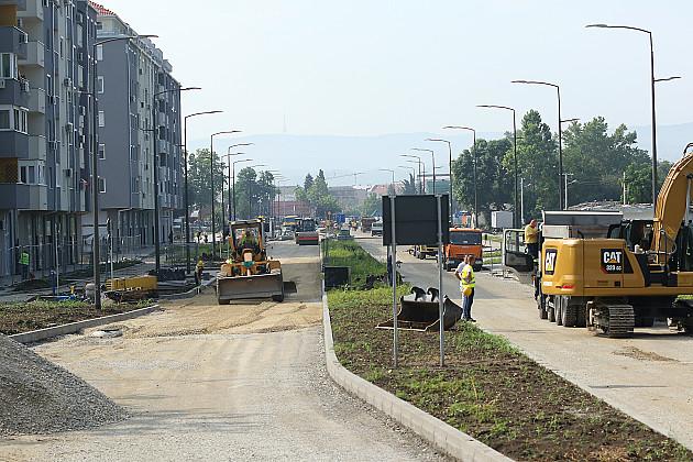 Ulica Bate Brkića biće gotova krajem jula
