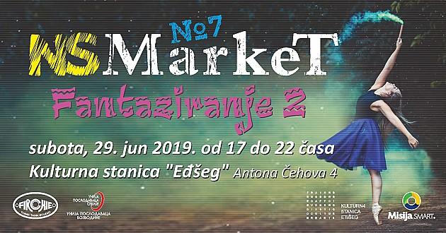 """Sedmi NS Market u subotu u """"Eđšegu"""", skupljaće se humanitarna pomoć za Natašu Gajdoš"""