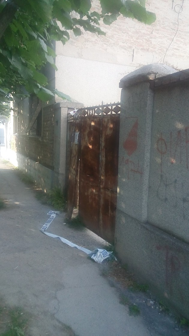 Ubistvo u napuštenoj kući u Kisačkoj ulici