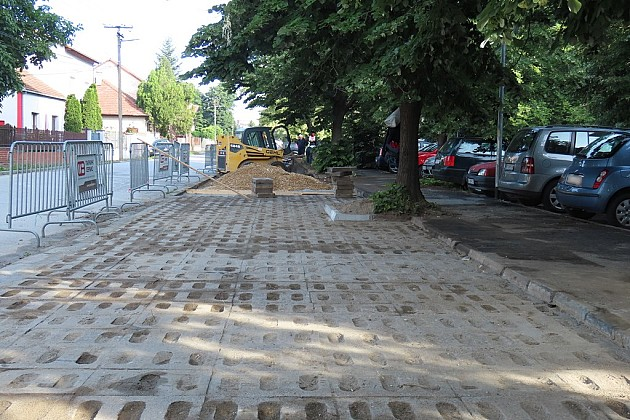 Sanacija parkirališta u Pančevačkoj ulici