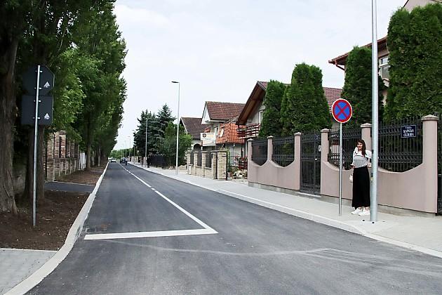 Ulica Karolja Seleša potpuno infrastrukturno opremljena