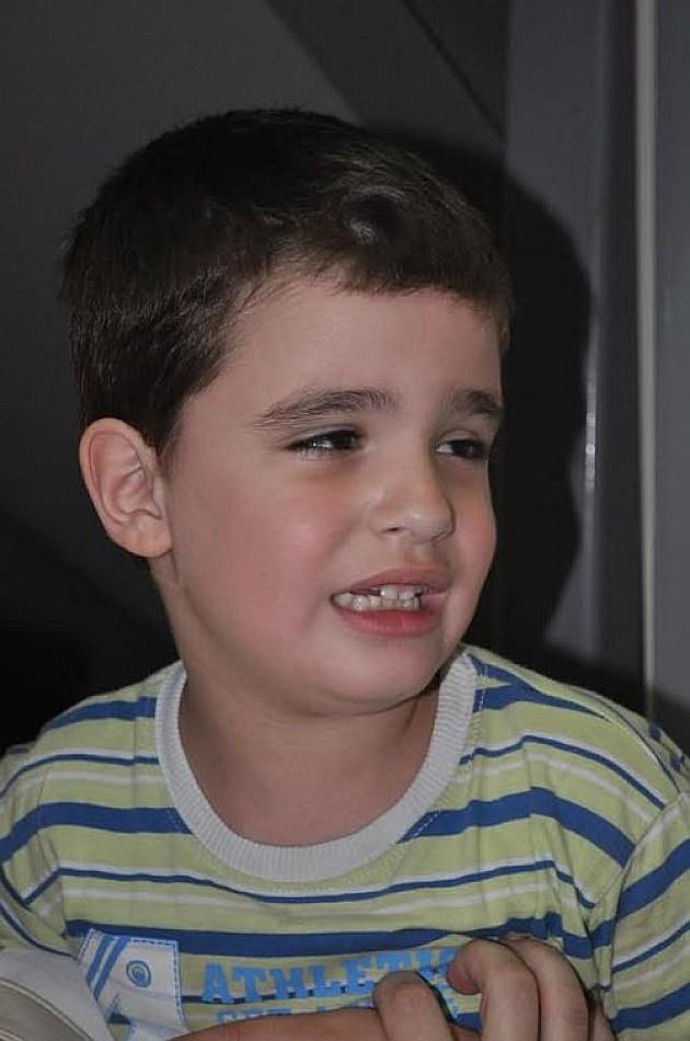 """""""Humani ponedeljak"""" za sedmogodišnjeg Aleksu"""