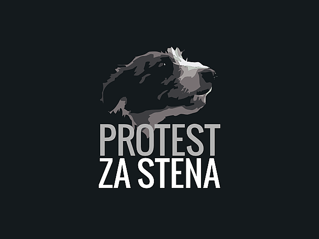 Protest zbog ubistva psa Stena