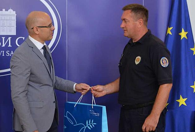Nagrada hrabrom policajcu