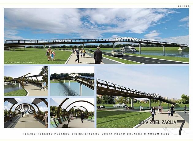 Most preko Dunavca - obećanje ludom radovanje