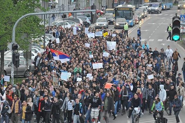 Večeras i u Novom Sadu protest podrške radnicima