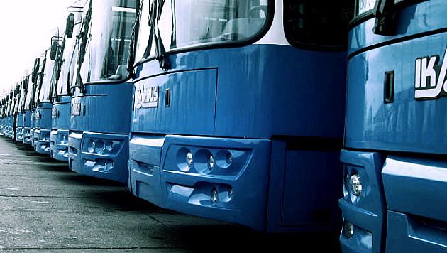 GSP: Požar u kome su izgorela dva autobusa neće uticati na bezbednost putnika i red vožnje