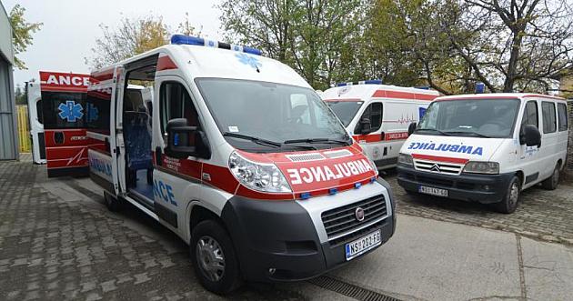 Trogodišnje dete povređeno u udesu u Novom Sadu