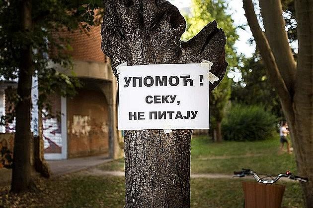 Pomeren protest građana sa Bulevara oslobođenja, investitor tražio sastanak sa njima