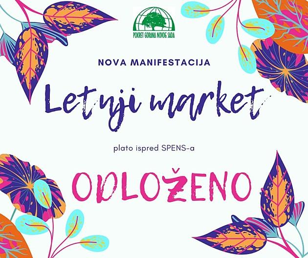 Odložen Letnji market