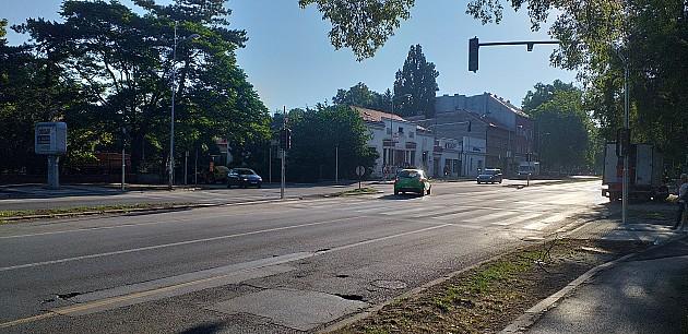 Postavljen semafor kod Jodne banje