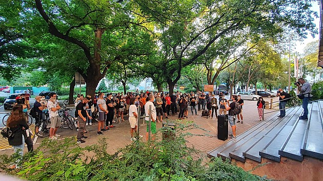Ispred tužilaštva održan protest protiv policijske represije