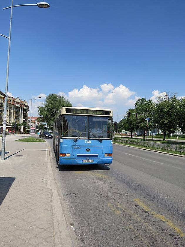 Nekoliko autobuskih linija koje prolaze delom Detelinare promenilo trasu
