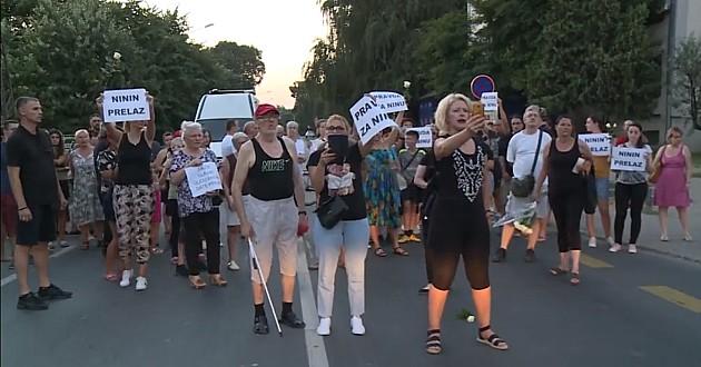 Protest u Novom Sadu, građani tražili pravdu za Ninu