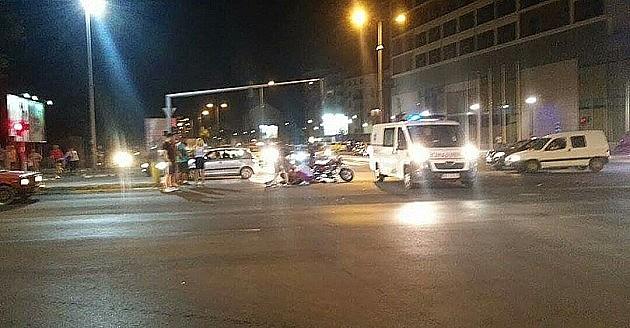 Potraga: Zgazio motociklistu, pa pobegao