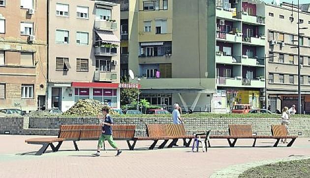 Na Trgu republike najskuplja klupa u istoriji grada
