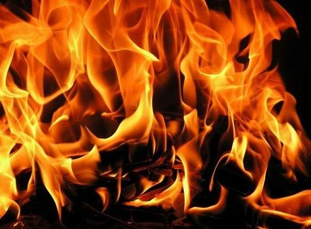 Požar u zgradi u Cara Dušana