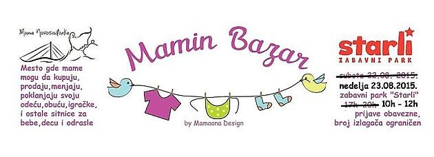 "Razmena dečje i bebi opreme na ""Maminom bazaru"""