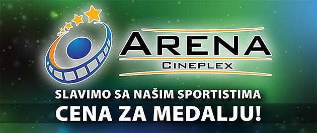"""Popust za filmove u bioskopu """"Arena"""""""