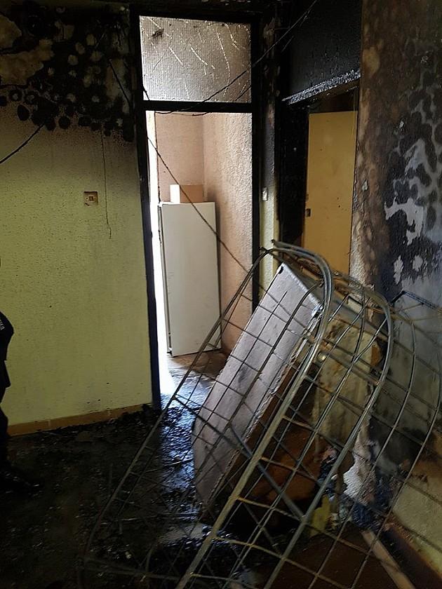 Uhapšen piroman koji je juče izazvao požare u zgradama