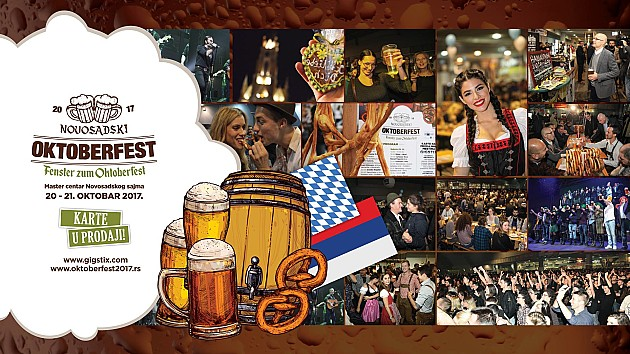 Novosadski Oktoberfest 20. i 21. oktobra