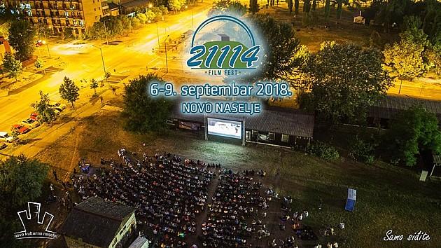 Filmski festival na Novom naselju od 6. do 9. septembra