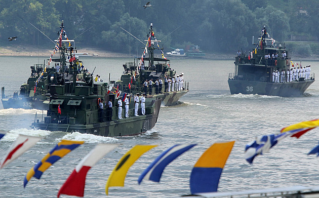 Rečna flotila obeležila 103. godišnjicu