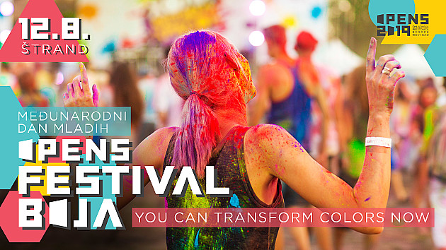 """""""Festival boja"""" danas na Štrandu"""