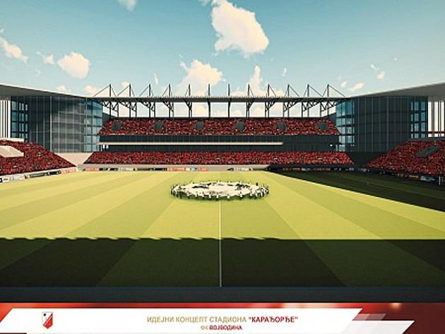 Pogledajte kako će izgledati novi stadion Karađorđe