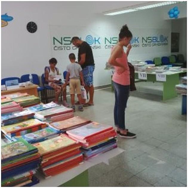 Razmena udžbenika i ove godine u organizaciji NS bloka