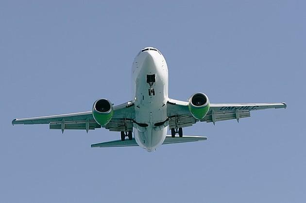 Prvi avion na međunarodnom letu sleteo na aerodrom Čenej
