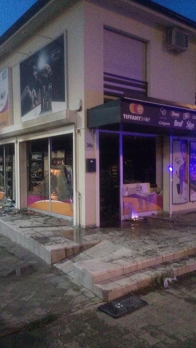 "Požar u prodavnici ""Tiffany shop"" na Klisi"