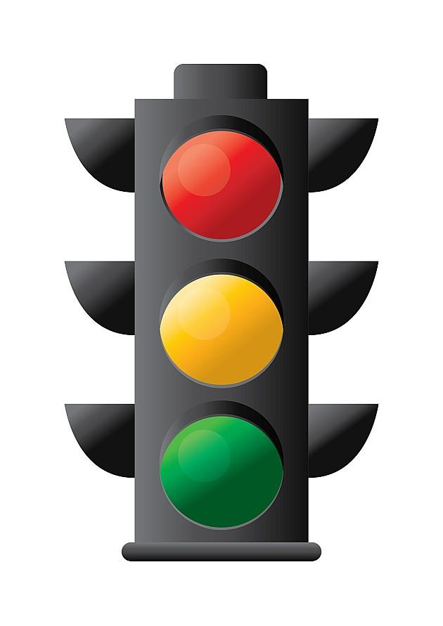 Novopostavljeni semafor u Veterniku u probnom režimu rada