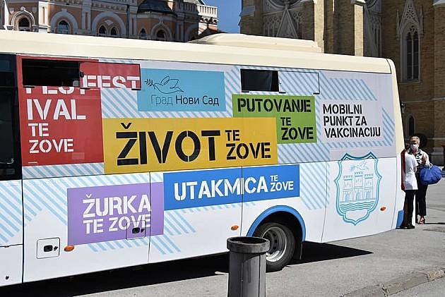 Autobus za vakcinaciju ponovo u centru grada