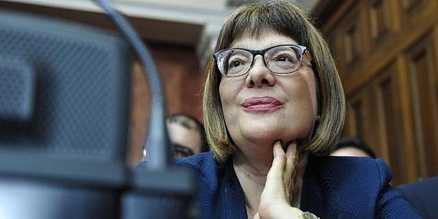 """""""Podneta inicijativa"""" da Maja Gojković dobije Oktobarsku nagradu"""