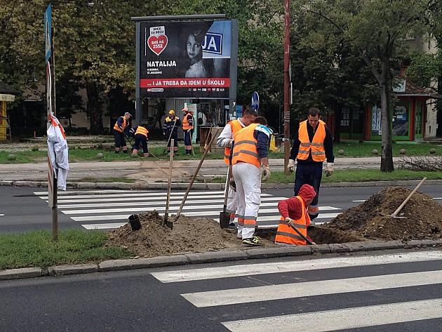 Postavlja se semafor u Rumenačkoj