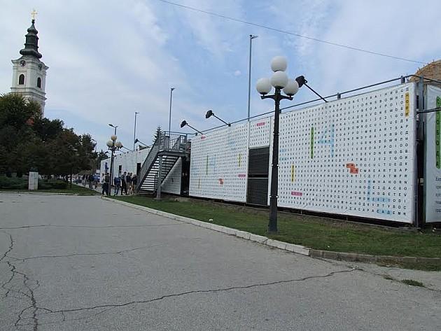 Murali na parkingu kod SNP-a