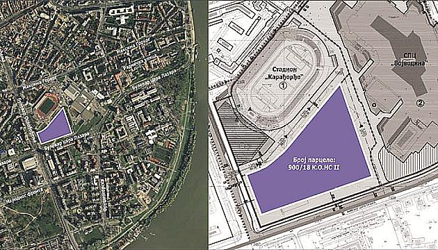 Očišćeni tereni kod Karađorđa, čeka se tržni centar