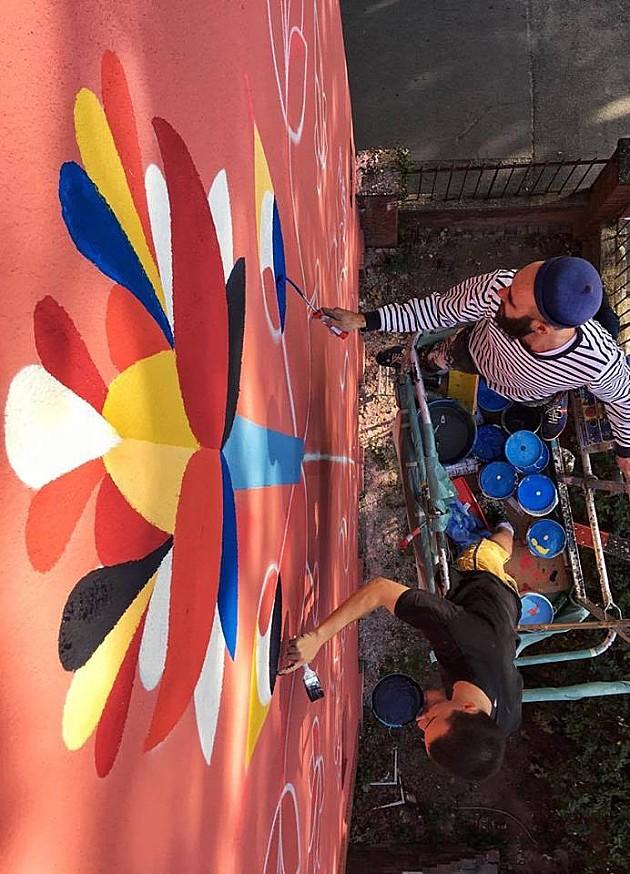 Remed crta novi mural u Novom Sadu