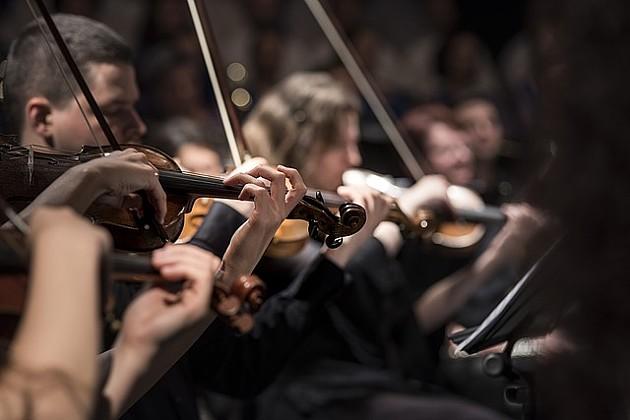 Ispred Banovine koncert Vojvođanskog simfonijskog orkestra